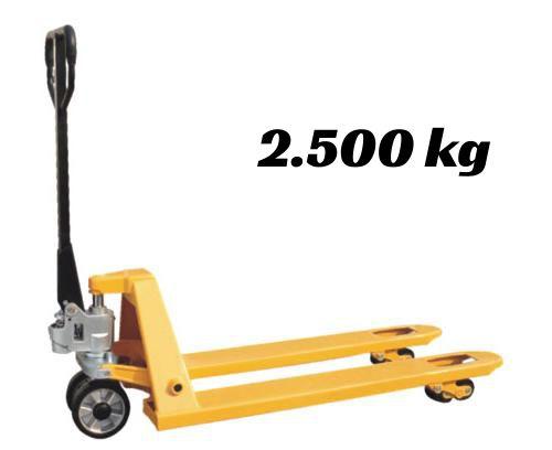 Paleteira Manual Hidráulica 2500kg